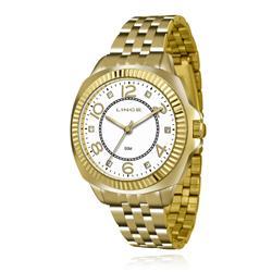 Relógio Feminino Lince Analógico LRGJ060L KU29 Kit Colar e Par de Brincos