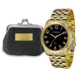 Relógio Feminino Lince Analógico LRG4456L KT74 Porta Níquel