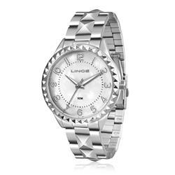 Relógio Feminino Lince Analógico LRM4380L KU05 Kit Colar e Par de Brincos