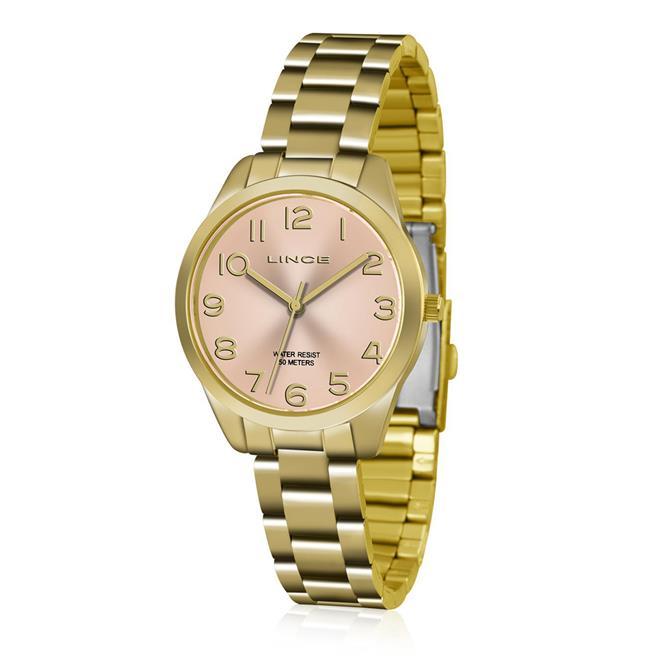 5a181455979ed Relógio Feminino Lince Analógico LRG4459L KT79 Kit Pulseira em Couro.  Ampliar