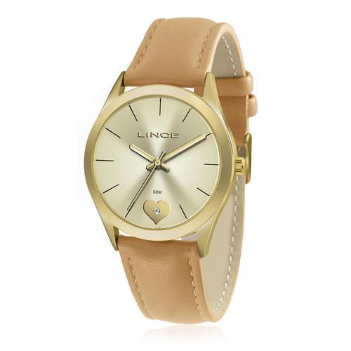 Relógio Feminino Lince Analógico LRC4452L KT57 Kit Colar e Par de Brincos