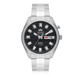 Relógio Masculino Orient Automatic 469SS076 G1SX Fundo Cinza