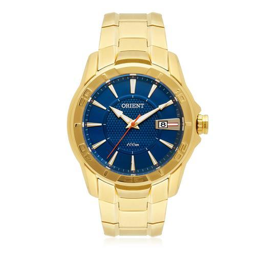 Relógio Masculino Orient Analógico MGSS1150 D1KX Dourado