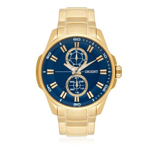 Relógio Masculino Orient Analógico MGSSM025 D1KX Dourado