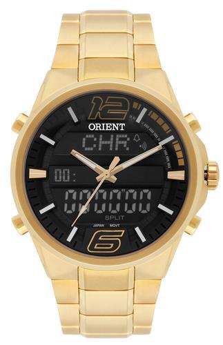 Relógio Masculino Orient ANADIGI MGSSA001 PYKX Dourado