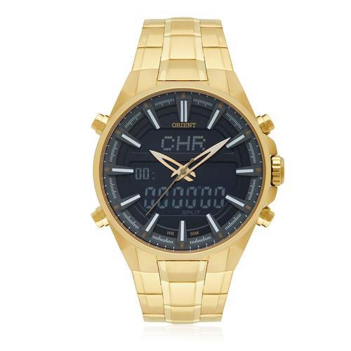 Relógio Masculino Orient ANADIGI MGSSA003 P1KX Dourado