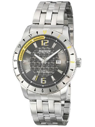 Relógio Masculino Magnum Analógico MA32863C Aço