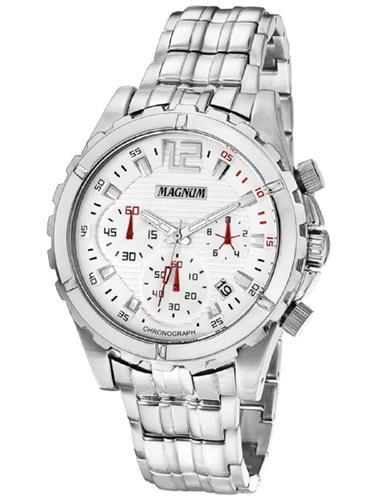Relógio Masculino Magnum Analógico MA32354Q Aço