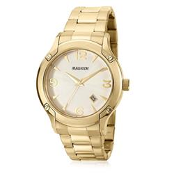 Relógio Masculino Magnum Analógico MA21937H Dourado