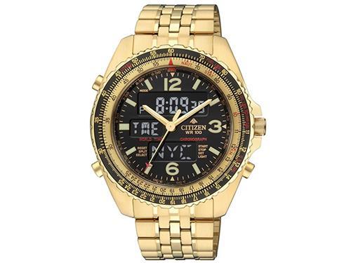 Relógio Masculino Citizen ProMaster Wingman TZ10075Z Dourado