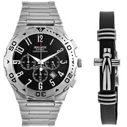 dae57145b87 Relógio Masculino Magnum Steel Analógico MA30310C Aço