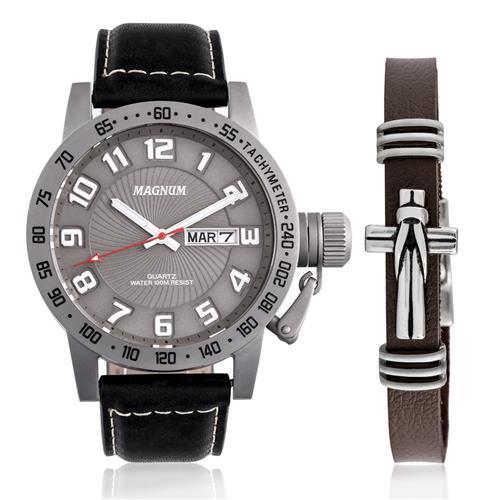 2257a76ea61 Relógio Masculino Magnum Analógico MA33139X Kit com Pulseira