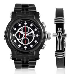 Relógio Masculino Magnum Analógico MA32292C Kit com Pulseira