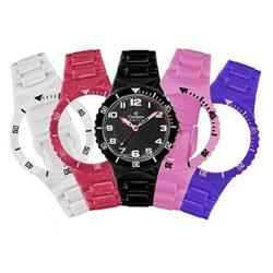 Relógio Champion Analógico CP38086X Troca Pulseiras