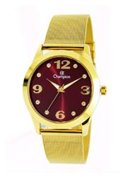 Relógio Feminino Champion Analógico CN29098I Fundo Vinho