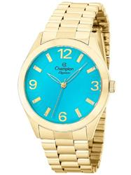 Relógio Feminino Champion Analógico CN25216F Fundo Azul