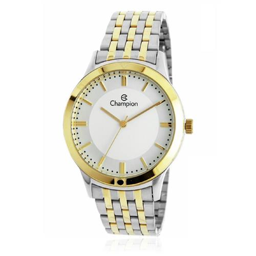 Relógio Feminino Champion Analógico CH22948B Aço Misto