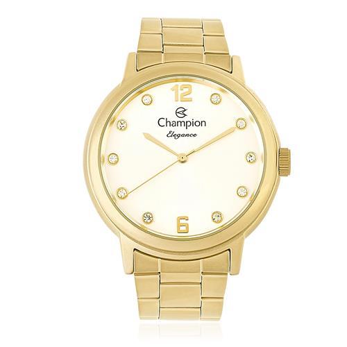 Relógio Feminino Champion Analógico CN28437H Dourado