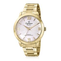 11e87428524 Relógio Feminino Champion Analógico CN28704H Dourado