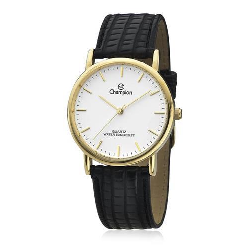 Relógio Feminino Champion Analógico CH22260M Couro