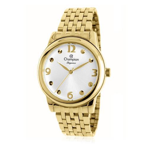 Relógio Feminino Champion Analógico CN26813H Dourado