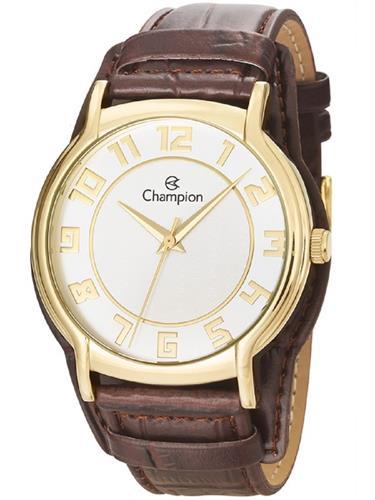 Relógio Feminino Champion Analógico CN20293X Couro
