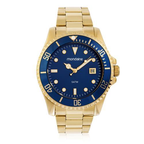 f2171556138 Relógio Feminino Mondaine Analógico 99215GPMVDS2 Fundo Azul