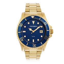 1142d1a0148 Relógio Feminino Mondaine Analógico 99215GPMVDS2 Fundo Azul