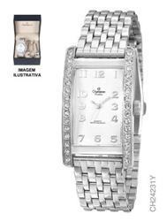 Kit Relógio Feminino Champion Ch24231y