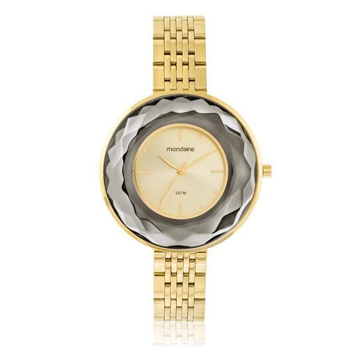 Relógio Feminino Mondaine Analógico 99276LPMVDE1 Dourado