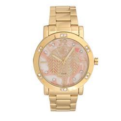 Relógio Feminino Allora Analógico AL2036FLI/4L  Dourado