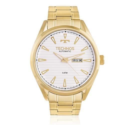 Relógio Masculino Technos Automatic 8205NX/4B Dourado