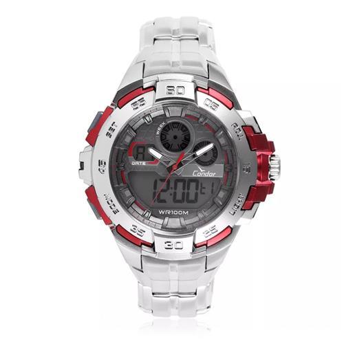 Relógio Masculino Condor CO1154BR/3R Aço