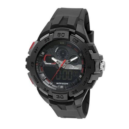 Relógio Masculino Condor Anadigi CO1154CR/8P