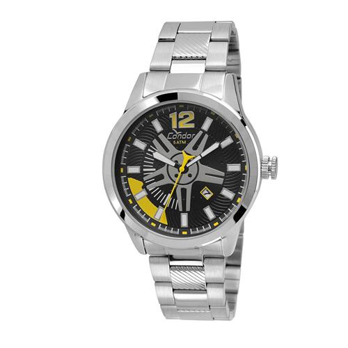Relógio Masculino Condor Analógico CO2115VT/3P Aço