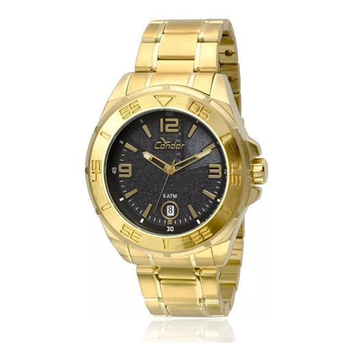 Relógio Masculino Condor Analógico CO2415AN/4A Dourado