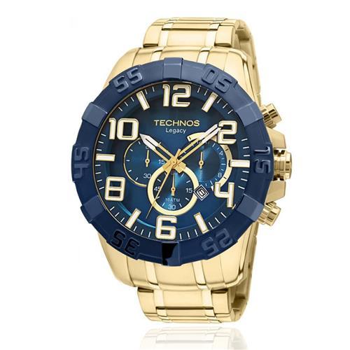 60a566458d7ee Relógio Masculino Technos Classic Legacy OS20IQ 4A Dourado