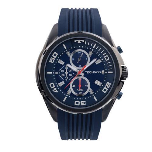 Relógio Masculino Technos Analógico JS15BH/8A Borracha