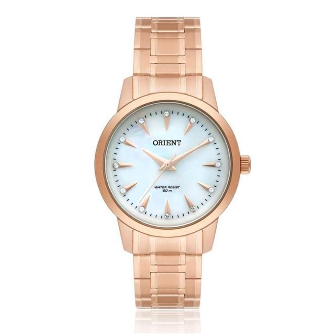 Relógio Feminino Orient Swarovski FRSS0028 B1RX Rose dde6571d5c