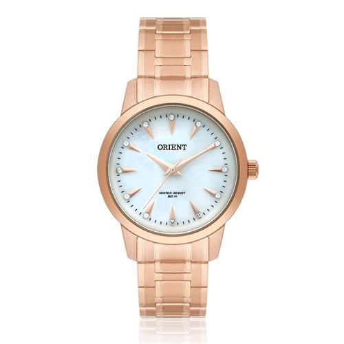 Relógio Feminino Orient Swarovski FRSS0028 B1RX Rose