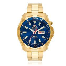 Relógio Masculino Orient Automático 469GP078 D1KX Dourado