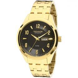 Relógio Masculino Technos Automatic  Ref  8205NI/4P Dourado