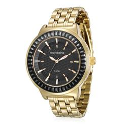 Relógio Feminino Mondaine 76624LPMVDE4 Dourado 0cba257a08