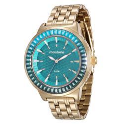 Relógio Feminino Mondaine Analógico 76624LPMVDE7 Dourado