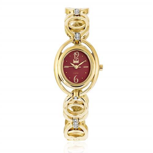 Relógio Feminino Dumont Splendore Ref DU2035LQE/4N Dourado
