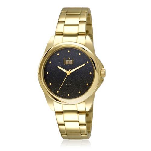 Relógio Feminino Dumont Analógico 2035LNU/4A Dourado