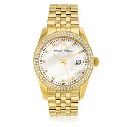 Relógio Phillip Kollin Malta Pearl Gold