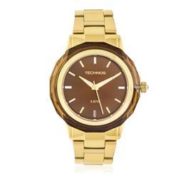 Relógio Feminino Elegnace Crystal 2035MCM/4M Dourado