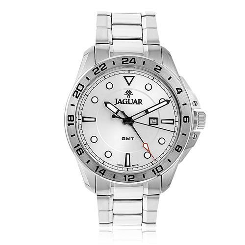 030eff16a92 Relógio Masculino Jaguar GMT J011ASS01 S1SX Aço