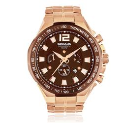 Relógio Masculino Seculus Chronograph 20312GPSVRA5 Rose